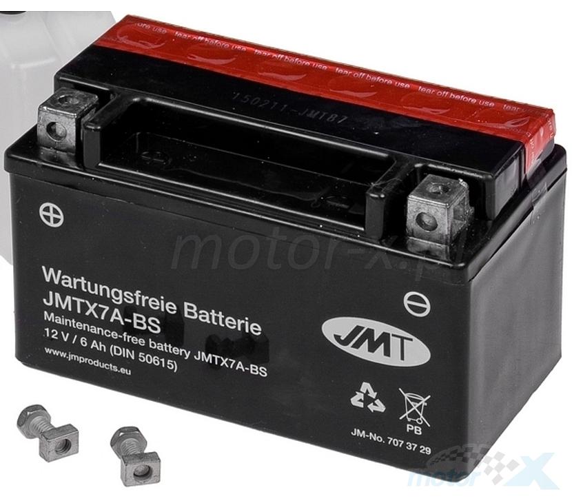 Akumulator bezobsługowy bez kwasu JMT JMTX7A-BS 150x87x94mm 12V 6Ah 90CCA
