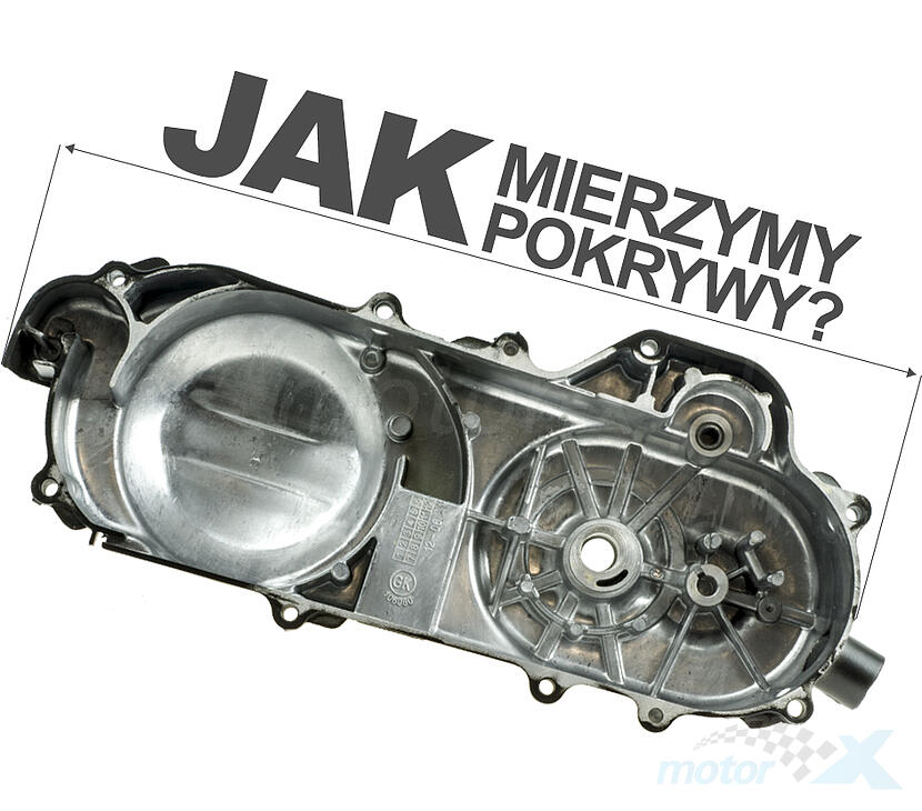 Uszczelki silnika komplet 50cm³ pokrywa 460mm 139QMB/QMA (GY6 50) 4T