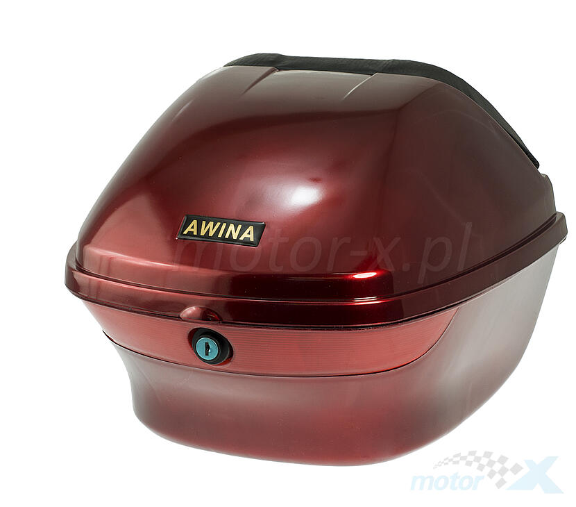 Kufer 33x31x25cm 25L czerwony Awina